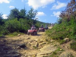montagne basque en quad