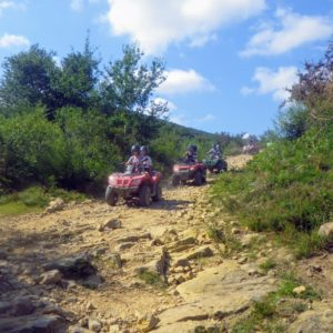 montagne basque en quad